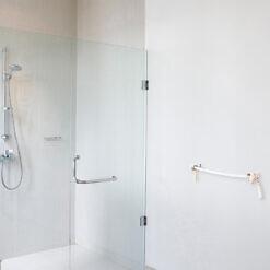 Bad Handtuchhalter Edelstahl Seil Maritim WC Tau Weiß